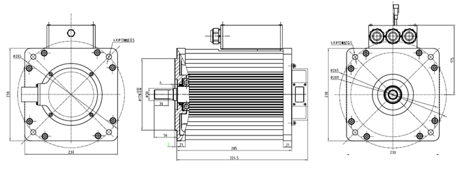 15kw ac induction motor for ev